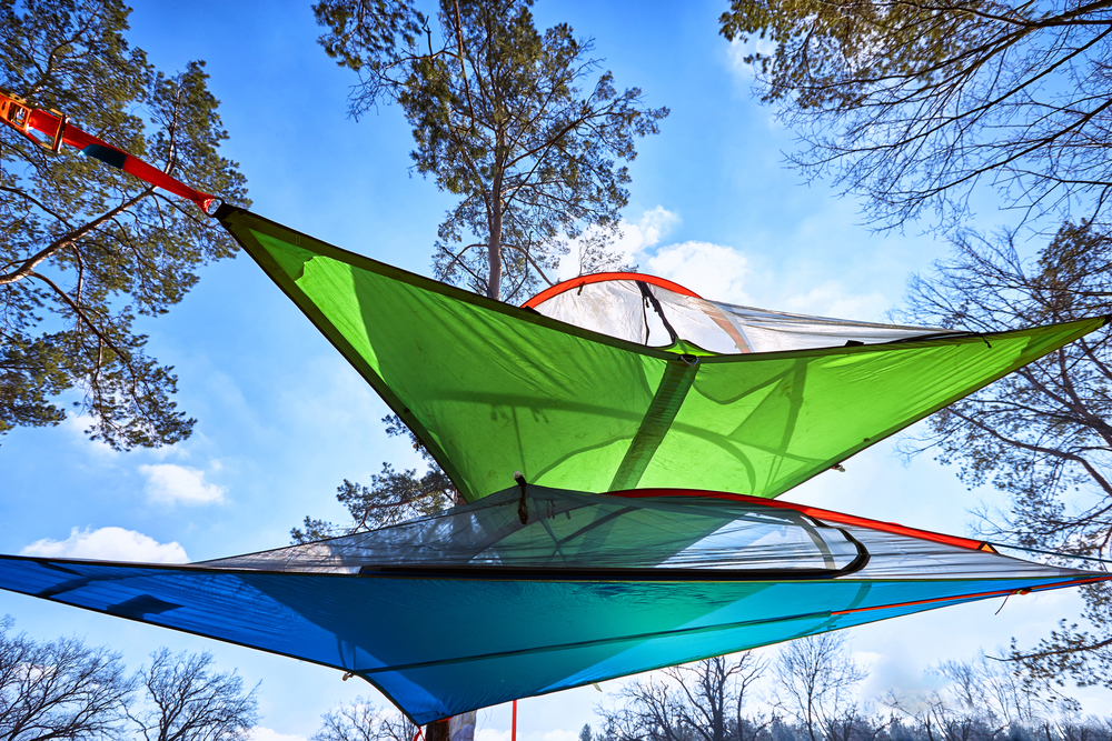 hængekøje telt