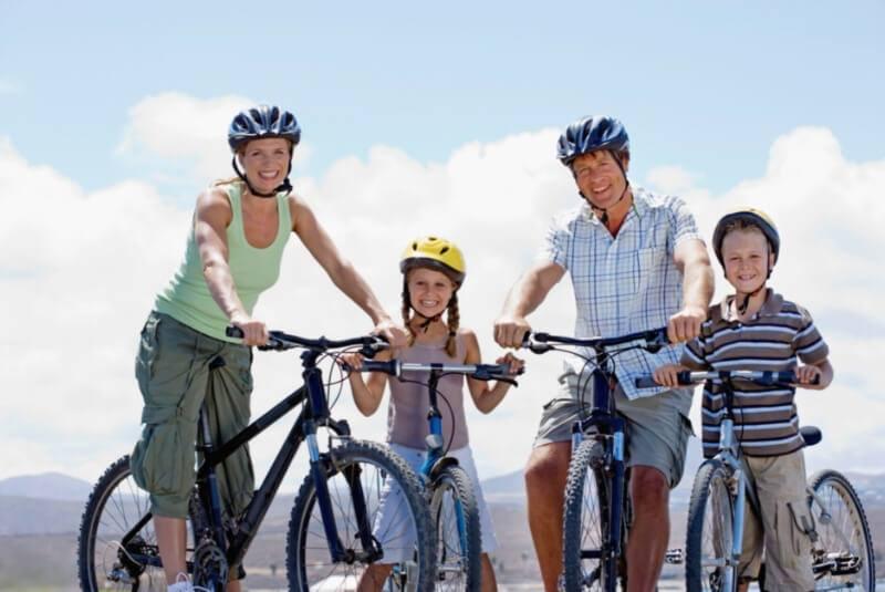 amilieudflugt i det nordsjællandske på cykel