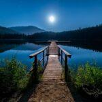 flot udsigt bro vand