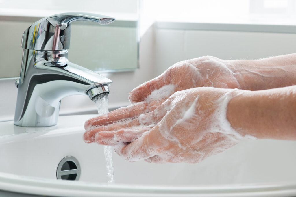vaske hænder