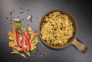 Tactical Foodpack - Grøntsager og Nudler (551 Kcal)