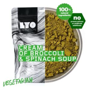 LyoFood Suppe på Broccoli og Spinat - Vegetar
