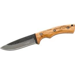 Herbertz AISI-420 Steel Knife, Zebra Wood