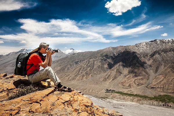 fotografering i bjergområde