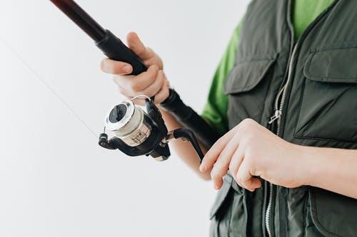 klar til at fiske